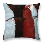 Pillars Of Society Throw Pillow