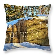 Pilot Rock Iowa Throw Pillow