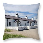 Pilots Cottages Throw Pillow