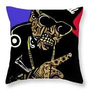 Pimp C In Full Color Throw Pillow