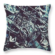 Pin And Sew Throw Pillow