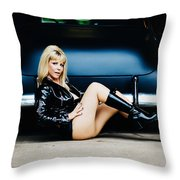 Pin Up #32 Throw Pillow