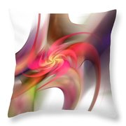 Pin Wheel 2 Throw Pillow