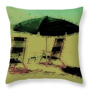 Pina Colada Anyone Throw Pillow