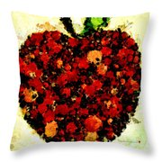 Pinatamiche Painting Crackle Art Throw Pillow