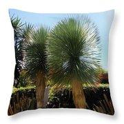 Pinball Plants, Long-pin Plants Throw Pillow