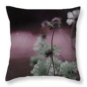Pincushion Pink Invasion  Throw Pillow