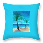 Pine Island Lady  Throw Pillow