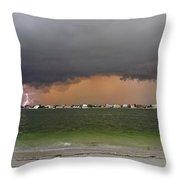 Pine Key Bolt Throw Pillow