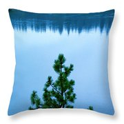 Pine On The River Throw Pillow