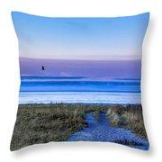 Pine Point Morning Throw Pillow