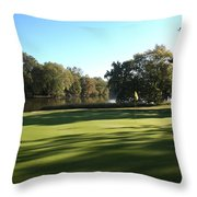 Pine Ridge Golf - Beautiful 14th Par 3 Throw Pillow