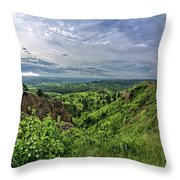 Pine Ridge Nebraska Throw Pillow