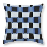 Pine Tree Abstract #7213w Throw Pillow