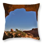 Pine Tree Arch 2 Throw Pillow