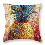 Pineapple Expression Throw Pillow