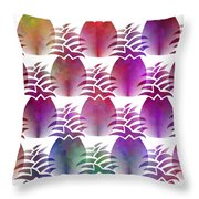 Pineapple Repeat Throw Pillow