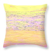 Pineapple Sunset Throw Pillow