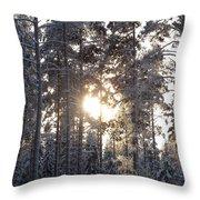 Pines 2 Throw Pillow