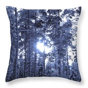 Pines 4 Throw Pillow