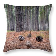 Pines And Needles 4 Throw Pillow