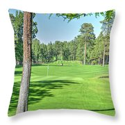 Pinetop Country Club - Hole #18 - Photos Throw Pillow