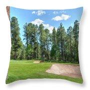 Pinetop Country Club Photos Throw Pillow
