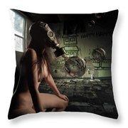 Pining For Lost Innocence Throw Pillow