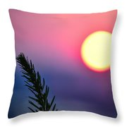 Pining On The Rise Throw Pillow