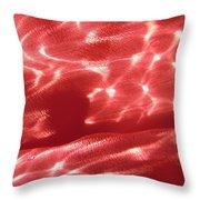 Pink 7 Throw Pillow