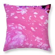 Pink-a-licious Throw Pillow