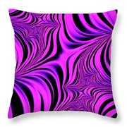 Pink Abyss Throw Pillow