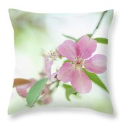 Pink Airy Marvel Throw Pillow