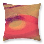 Pink Ambrelia Throw Pillow