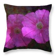 Pink And Gold 6156 Dp_2 Throw Pillow