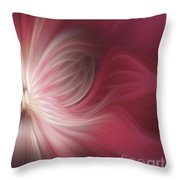 Pink And White Flower 0610 Throw Pillow