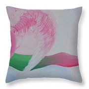 Pink Angel Of Unconditional Love Throw Pillow