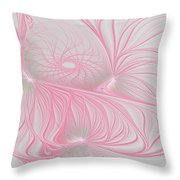 Pink Anyone Throw Pillow