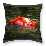 Pink Bliss Throw Pillow