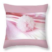 Pink Cloud Throw Pillow