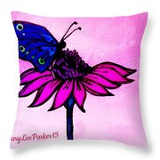 Pink Day  Throw Pillow