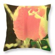Pink Desolation Throw Pillow