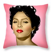Pink Dorothy Throw Pillow