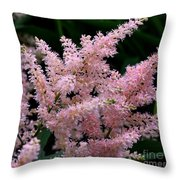 Pink Expressions Throw Pillow
