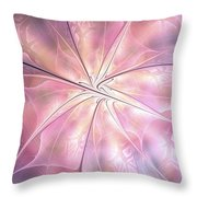 Pink Feeling Throw Pillow