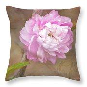 Dwarf Flowering Almond Romantic Floral Throw Pillow