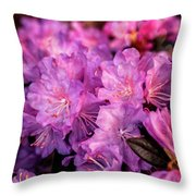 Pink From Heart Throw Pillow