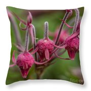 Pink Fuzz 3 - Square Throw Pillow