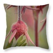 Pink Fuzz 4 Throw Pillow