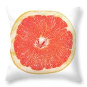 Pink Grapefruit Throw Pillow by James BO  Insogna